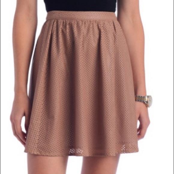 Ark & Co Dresses & Skirts - Ark & Co. perforated skirt